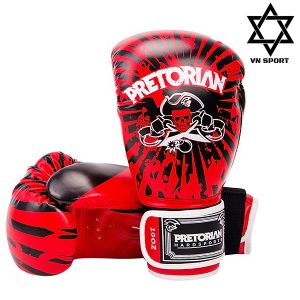 Găng Tay Boxing Pretorian Màu Đỏ