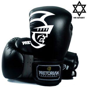 Găng Tay Boxing Pretorian Màu Đen