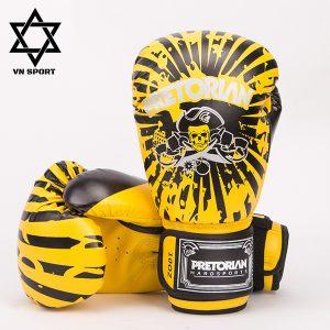 Găng Tay Boxing Pretorian Màu Vàng