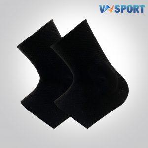 Băng Cổ Chân 360 Độ Fullblack VN1019-01F   1 Cặp