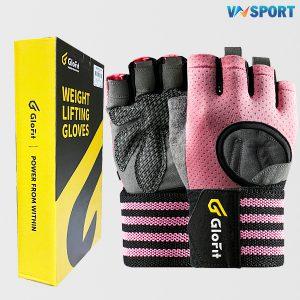 Găng Tay Tập Gym Glofit GFST010 | Pink